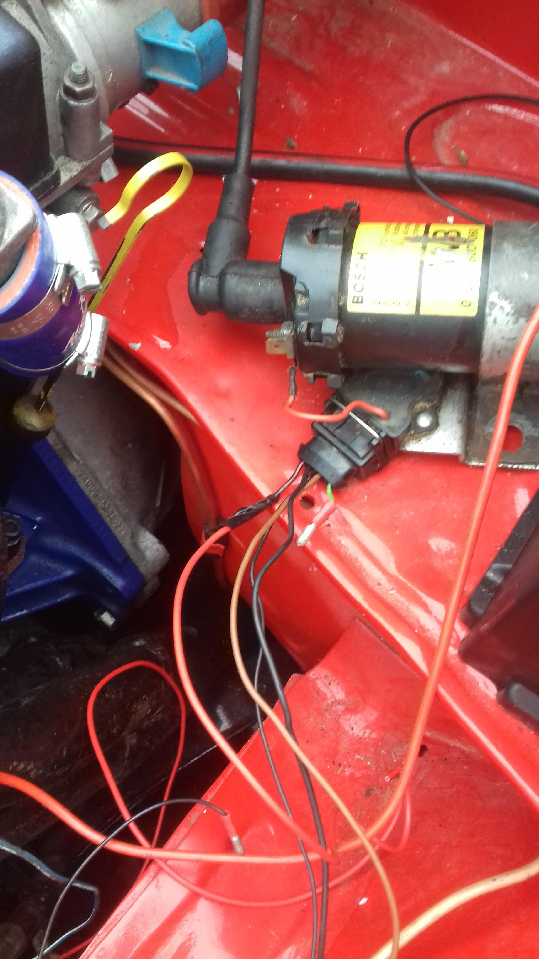 wiring dizzy for redtop on 45s - basic tech help - opel manta, Wiring diagram
