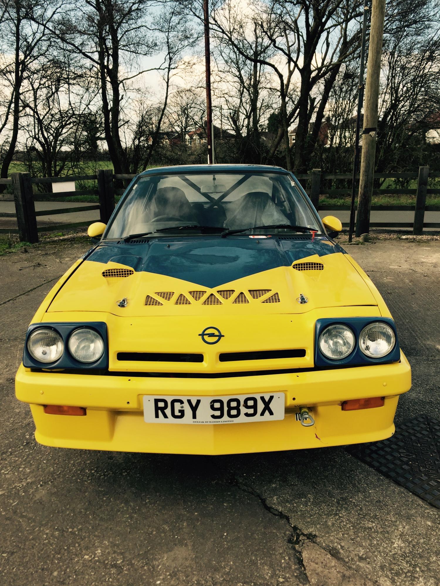 Listing All Cars >> Opel Manta GTE 1981 Rally Car - Cars For Sale - Opel Manta ...