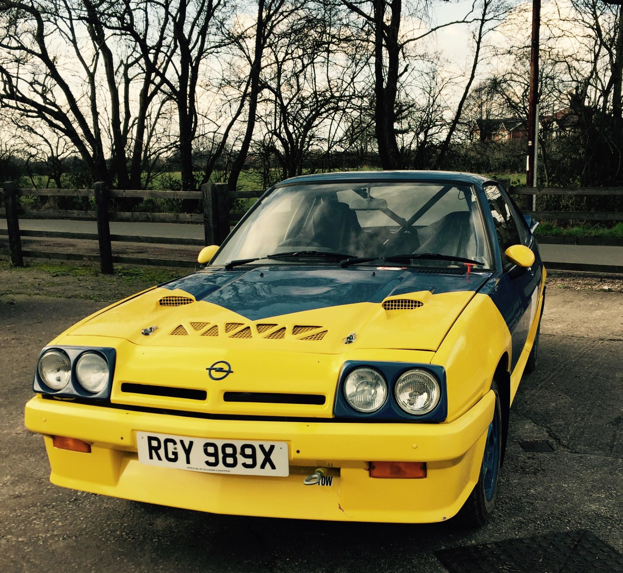 Opel Manta GTE 1981 Rally Car